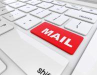 ビジネスメールを送るイメージ