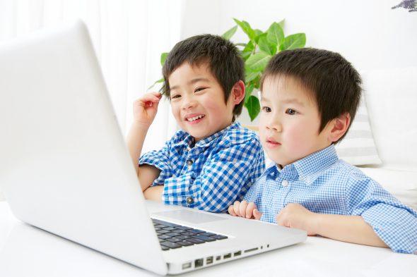 自宅 動画で英語学習 子ども
