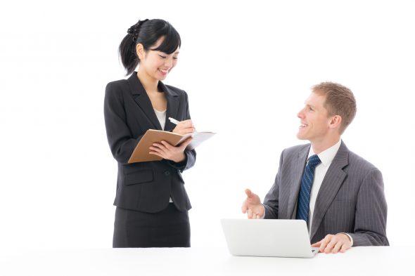 外資系で働く女性のイメージ